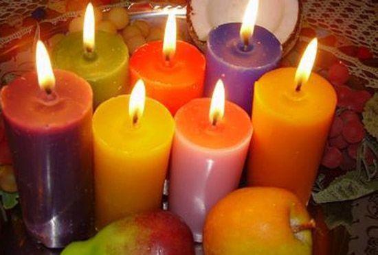 La energía de las velas